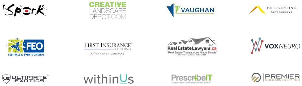 Trusted partner logos
