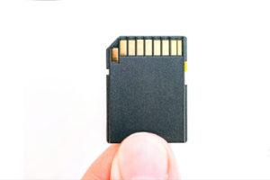 close up of Sim card